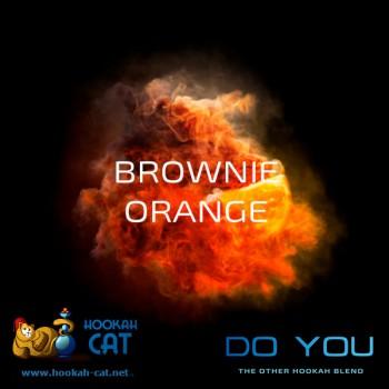 Бестабачная смесь для кальяна Do You Brownie Orange (Чайная смесь Ду Ю Брауни с Апельсином) 50г