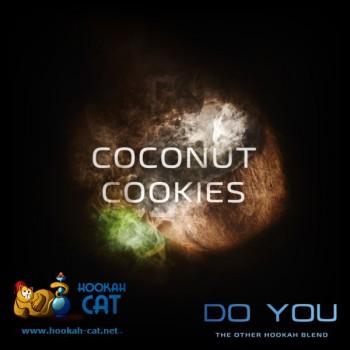 Бестабачная смесь для кальяна Do You Coconut Cookies (Чайная смесь Ду Ю Кокосовое Печенье) 50г
