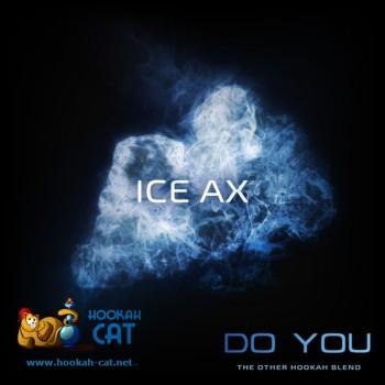 Бестабачная смесь для кальяна Do You Ice Ax (Чайная смесь Ду Ю Ледяная Мятная Жвачка) 50г купить в Москве недорого