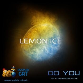 Бестабачная смесь для кальяна Do You Lemon Ice (Чайная смесь Ду Ю Ледяной Лимон) 50г