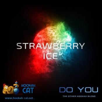 Бестабачная смесь для кальяна Do You Strawberry Ice (Чайная смесь Ду Ю Ледяная Клубника) 50г