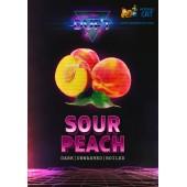 Табак Duft Sour Peach (Кислый Персик) 100г Акцизный