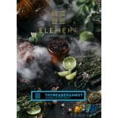 Табак Element Water Thyme & Bergamot (Чабрец и Бергамот Вода) 40г Акцизный