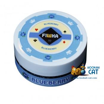 Бестабачная смесь для кальяна Fiшка Blueberry (Фишка Черника) 50г