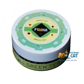 Бестабачная смесь для кальяна Fiшка Green Tea (Фишка Зеленый Чай) 50г