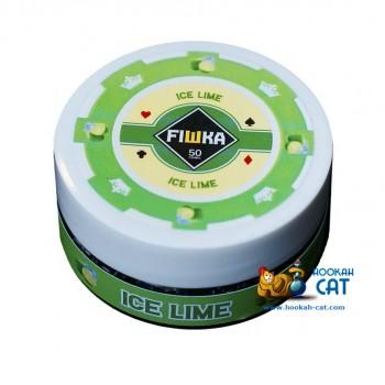 Бестабачная смесь для кальяна Fiшка Ice Lime (Фишка Лайм Холодок) 50г