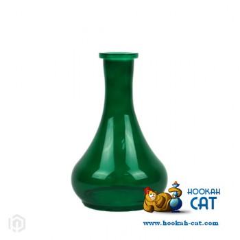 Колба для кальяна Drops (Капля) Зеленая купить в Москве быстро и недорого