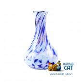 Колба для кальяна Hype Drops Blue - White (Хайп Капля Сине Белая Крошка)