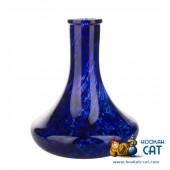 Колба для кальяна Hype Goose High Quality Blue Alebastr Mg (Синий Алебастр Марганцевая Крошка)