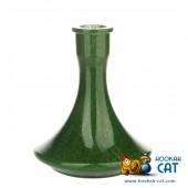 Колба для кальяна Hype Sandpiper High Quality Green Alebastr (Зеленый алебастр)