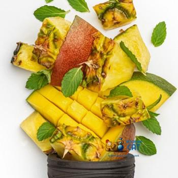 Табак для кальяна Jibiar Sweet Mango Mix (Джибиар Сладкий Манго Микс) Акцизный 50г
