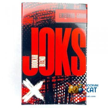 Бестабачная смесь для кальяна Joks (Джокс) Ежевика Банан 50г