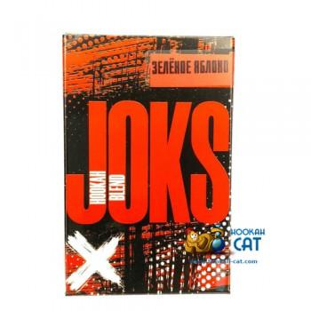 Бестабачная смесь для кальяна Joks (Джокс) Зеленое Яблоко 50г