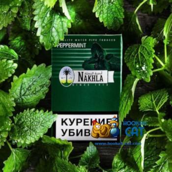 Табак для кальяна Nakhla Peppermint (Нахла Перечная Мята) Акцизный 50г