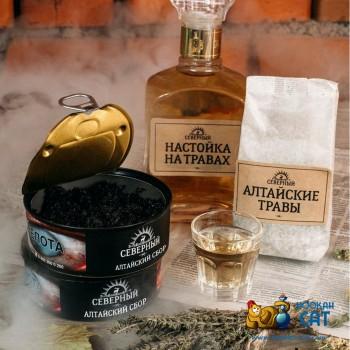 Табак для кальяна Северный Алтайские Травы 100г Акцизный