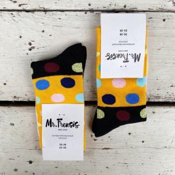 Носки женские Кружки - купить в Москве с доставкой по России