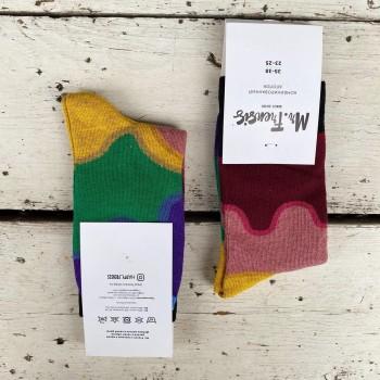 Носки женские Краски - купить в Москве с доставкой по России