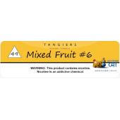 Табак Tangiers Mixed Fruit #6 Noir (Мультифрукт #6) на развес
