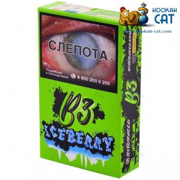 Табак для кальяна B3 Iceberry (Б3 Черника с Мятой) Акцизный 50г