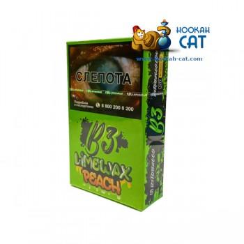 Табак для кальяна B3 Limewax Peach (Б3 Персик Лайм) Акцизный 50г