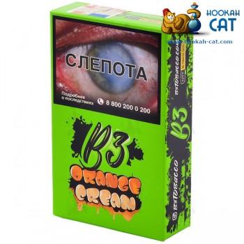 Табак для кальяна B3 Orange Cream (Б3 Апельсин Крем) Акцизный 50г