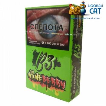 Табак для кальяна B3 Wineberry (Б3 Ягодное Вино) Акцизный 50г