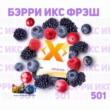 Табак для кальяна X (Икс) Берри Икс Фреш (Ягоды со Льдом) 50г Акцизный