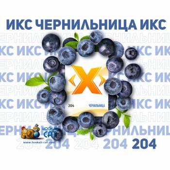 Табак для кальяна X (Икс) Чернильница (Черника) 50г Акцизный