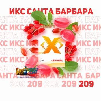 Табак для кальяна X (Икс) Санта Барбара (Барбарис) 50г Акцизный