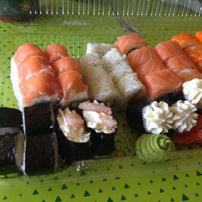 На ужин с кальянчиком у меня будут суши :)